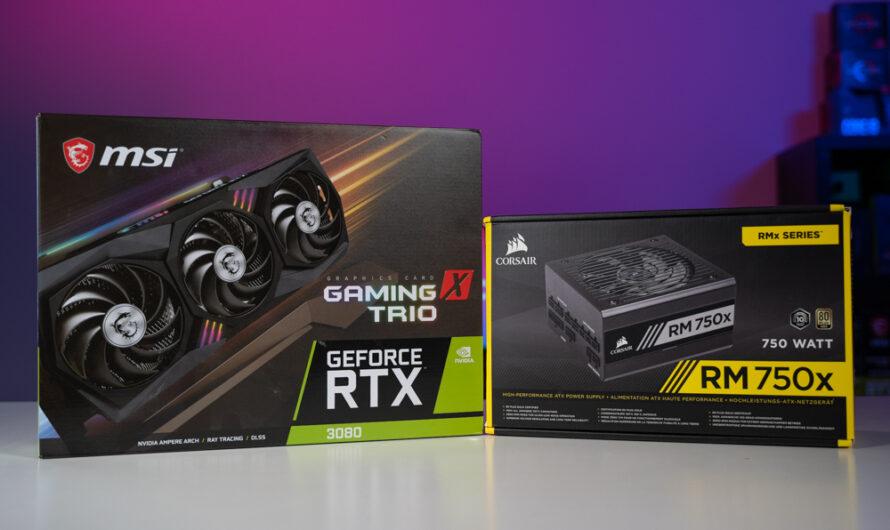 Best PSUs For RTX 30-series GPUs
