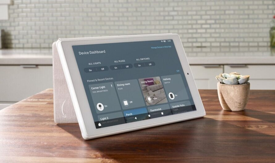 Touch-enabled dashboard for smart devices coming to Amazon Fire tablets
