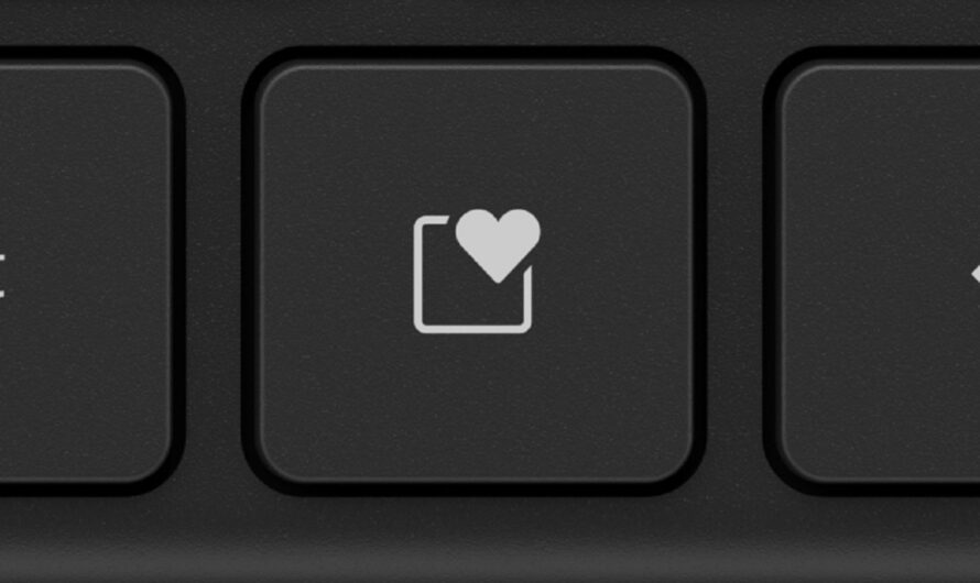 Microsoft's Surface accessories include a keyboard with a dedicated 'heart' emoji key