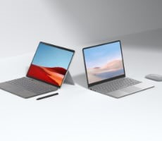 Microsoft Surface Pro X Gains SQ2 CPU Upgrade And 15-Hour Battery, $549 Surface Laptop Go Debuts