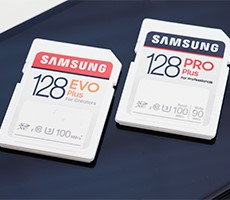 samsung-evo-plus-and-pro-plus-sd-cards-deliver-100mb/s-speeds-and-enhanced-durability-for-photographers