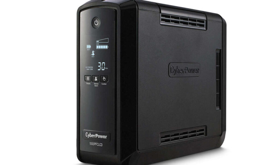 Cyberpower PFC Sinewave CP1000PFCLCD UPS review: This is the perfect power backup for most PCs and Macs