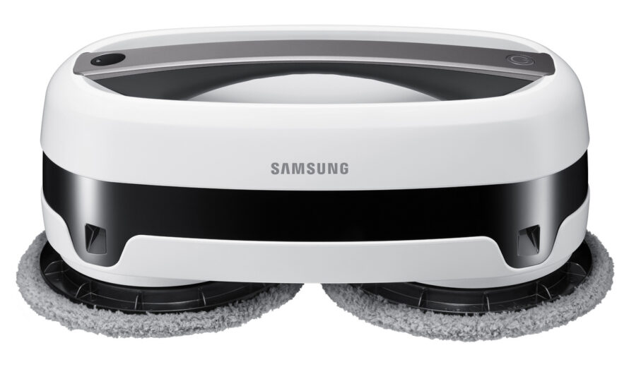 Samsung Jetbot Mop review: This robot mop does double duty as a handheld scrubber