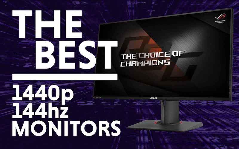 Best 1440p 144hz monitor