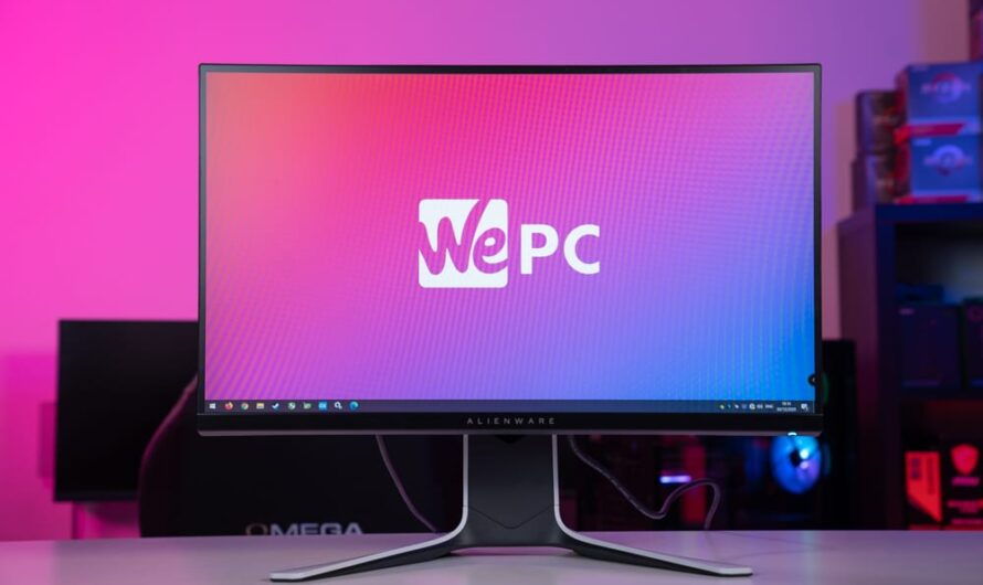 Alienware AW2720HF 240Hz Gaming Monitor Review
