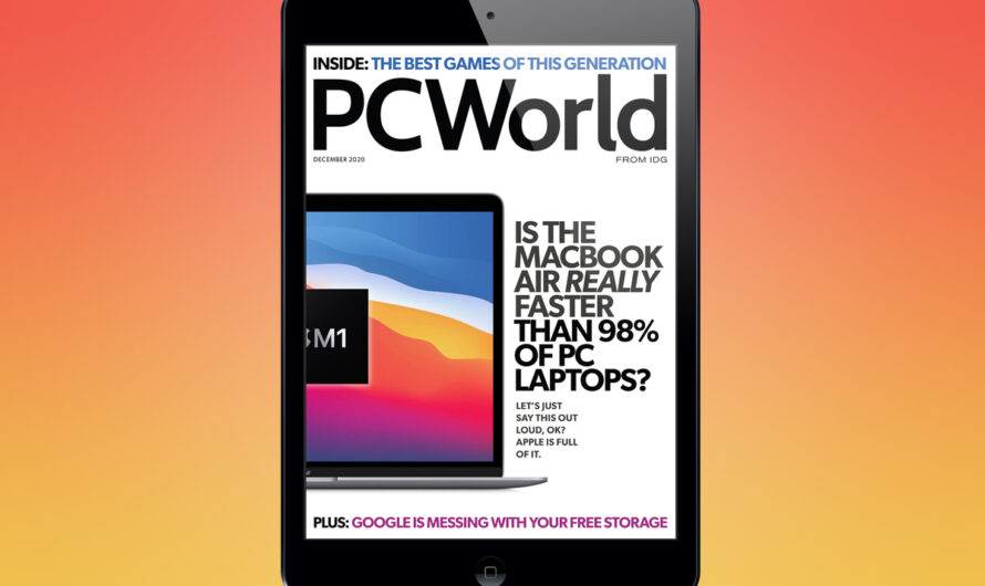 PCWorld's December Digital Magazine: Is the MacBook Air really faster than 98% of PC laptops?