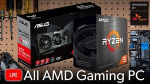 Watch us build an all-AMD PC!