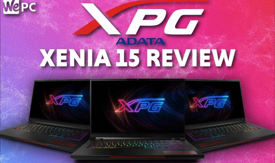 XPG Xenia 15 Review