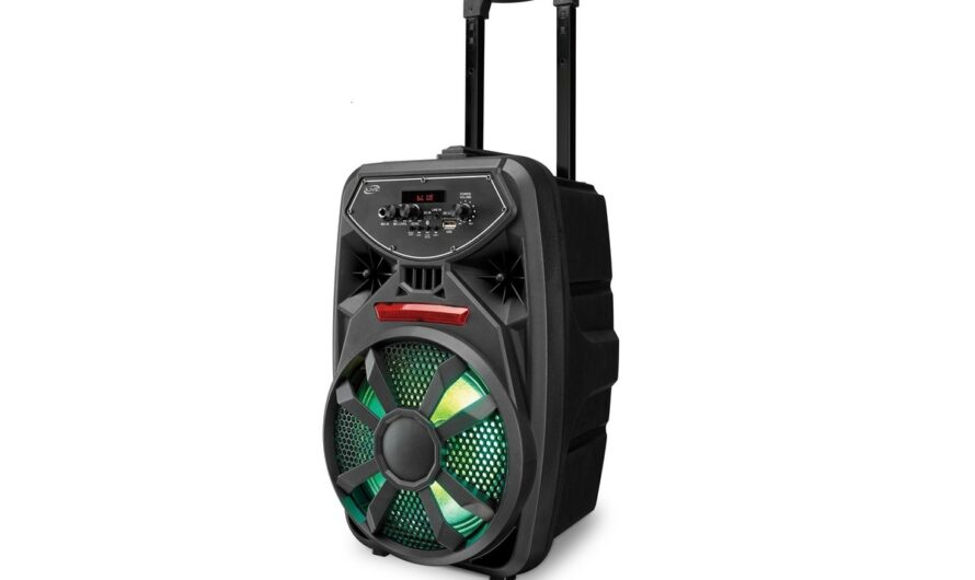 iLive Bluetooth Tailgate Party speaker (model ISB380B) review: Cheap, light, and fun
