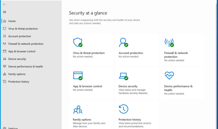 What you need to know about Windows Security in Windows 10