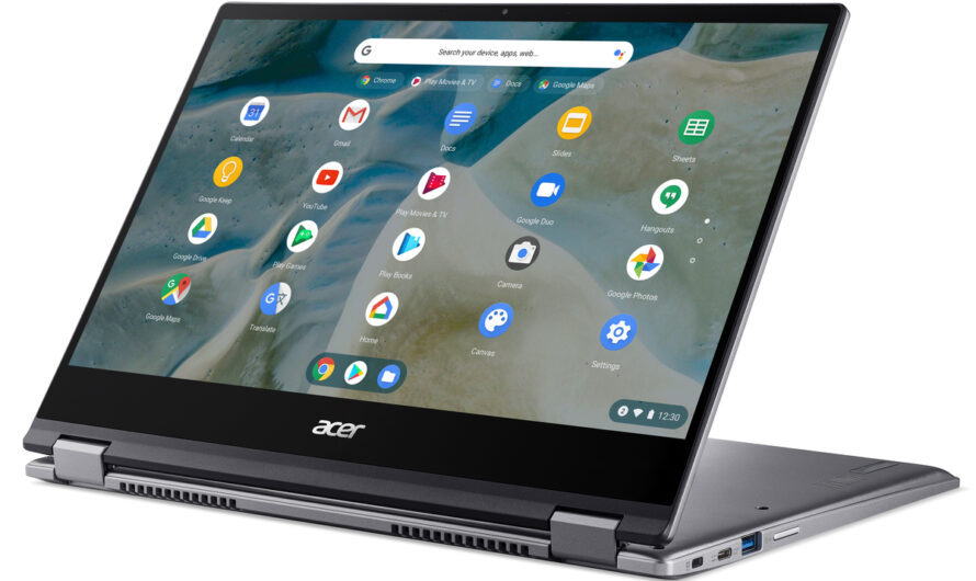 Acer debuts its first Ryzen-powered Chromebook, the Spin 514