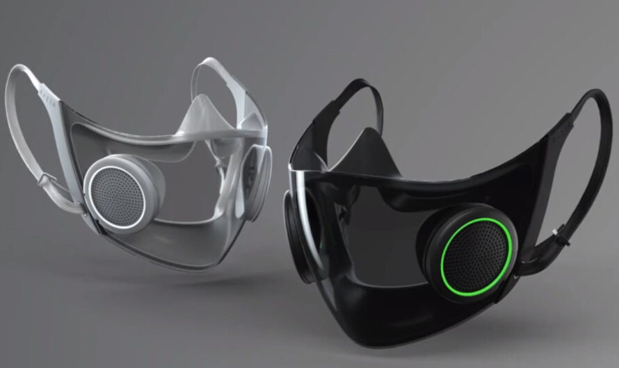 Razer is bringing RGB to N95 masks, because why not?