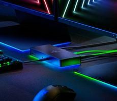 Razer's Thunderbolt 4 Dock Chroma Brings Speed, Connectivity And RGB Bling To PCs