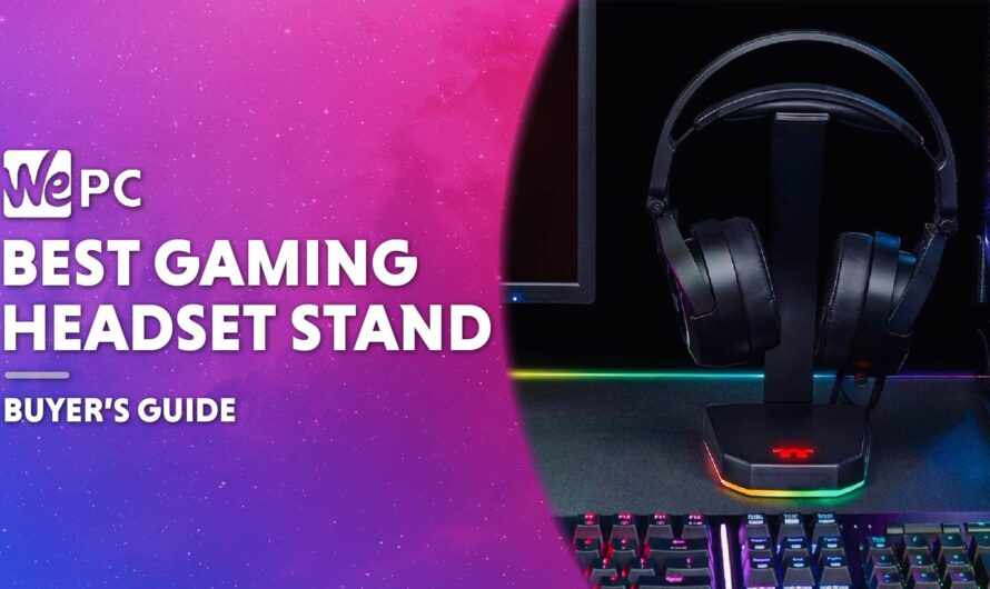 Best Gaming Headset Stand