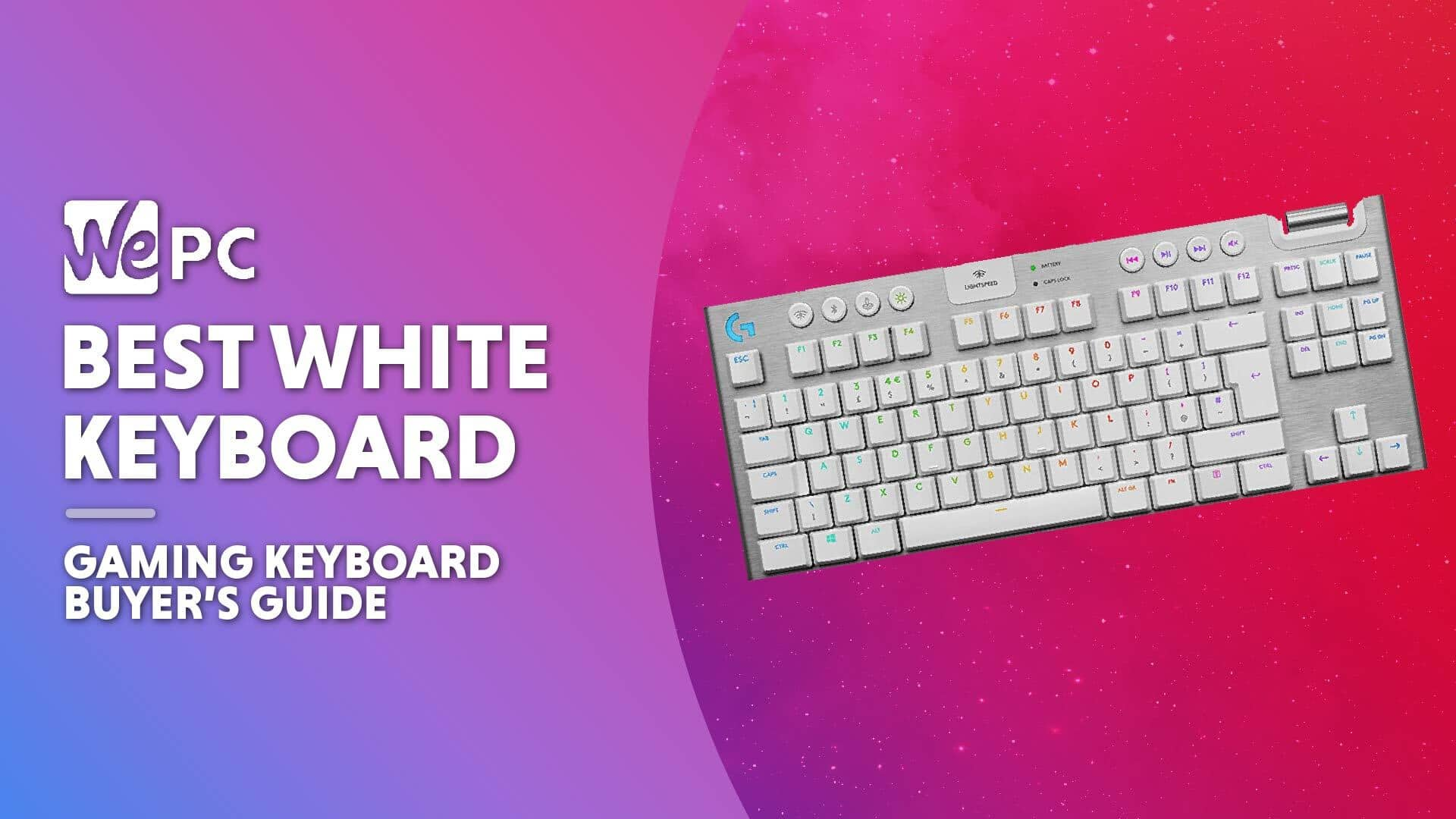 WEPC Best white keyboard Featured image 01
