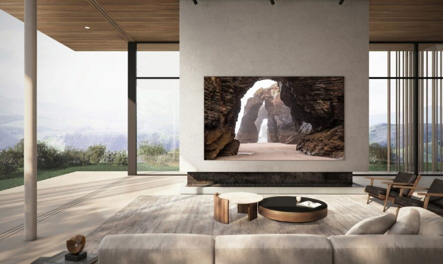 Samsung's 76-inch MicroLED TV will be its smallest yet