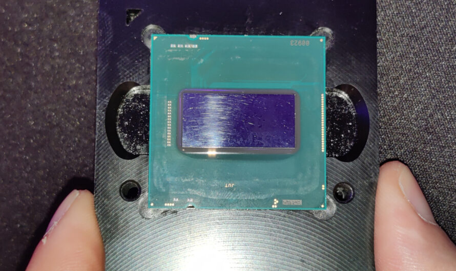 How big is Intel's 11th gen Rocket Lake chip? This photo shows all