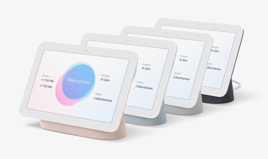 The second-gen Google Nest Hub can track your sleep without a wristband