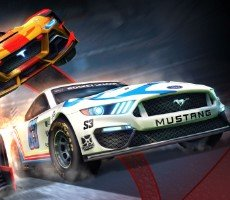 How To Get The Mustang In Rocket League's NASCAR F1 April 7th Update