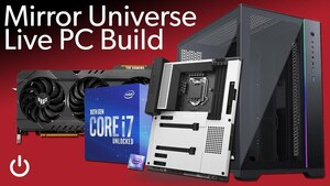 Watch us build our 'Mirror Universe' RGB PC!