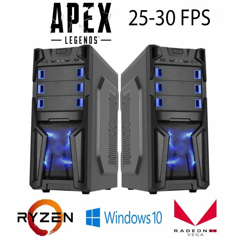 Gaming Desktop Custom System Ryzen 3 2200G