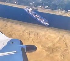Microsoft Flight Simulator Mod Has Fun With Cargo Ship Stuck In Suez Canal