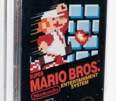 Original Super Mario Bros. Cartridge Hits $310K In Potential Record Breaking Auction