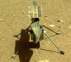 nasa-ingenuity-helicopter-lands-on-mars,-preps-for-historic-first-flight