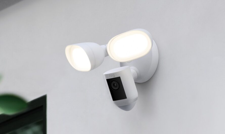 Ring unveils the Floodlight Cam Wired Pro, with radar-powered bird's-eye view