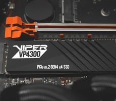 Patriot Launches Viper VP4300 PCIe 4.0 SSD Delivering Breakneck 7,400 MB/s Performance