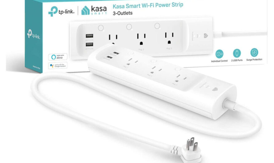 This $25 TP-Link Kasa power strip can give your dumb devices smarts