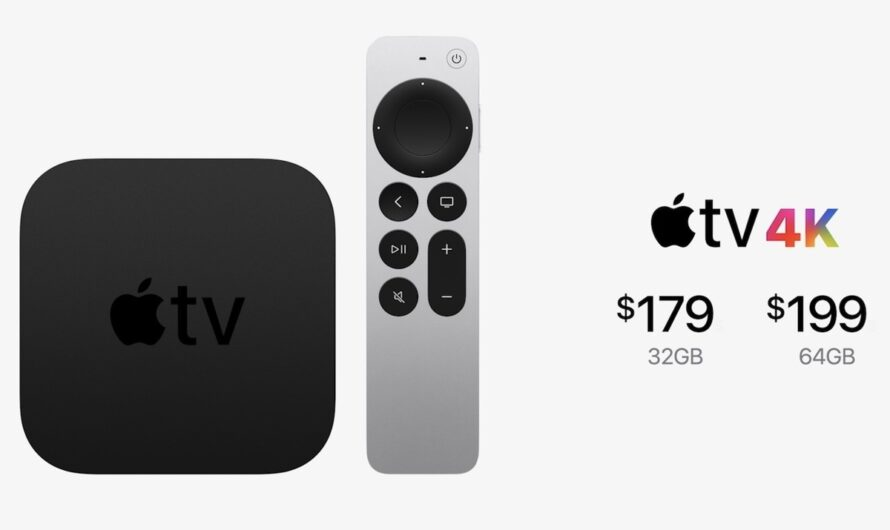 Second-generation Apple TV 4K features a new processor, redesigned Siri remote, and high frame rate HDR