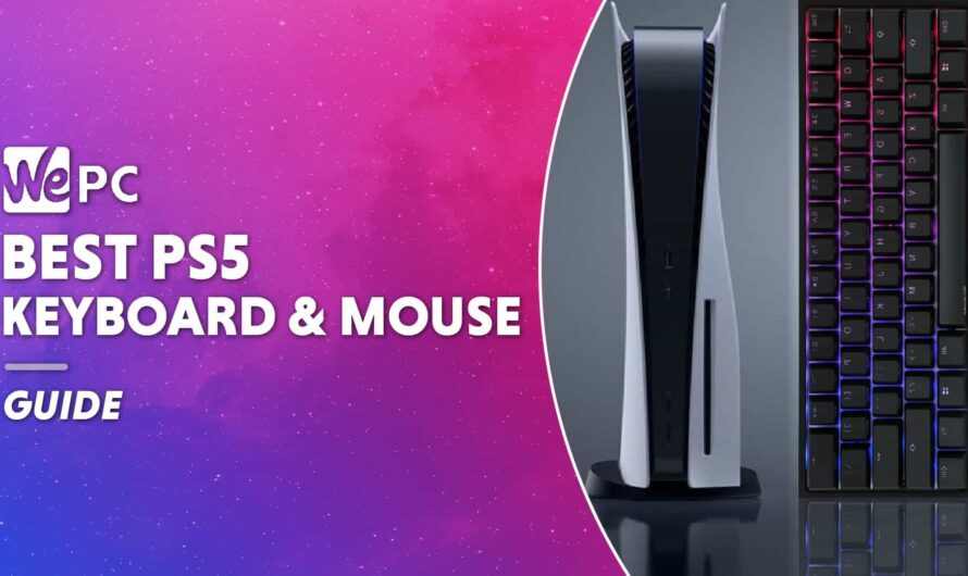 The Best Keyboard And Mouse Combo For PS5 (Budget, High-End, Mechanical)