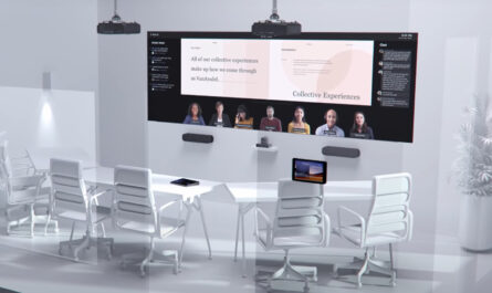 microsoft-sees-a-future-office-with-lifesize-screens,-rotating-cameras
