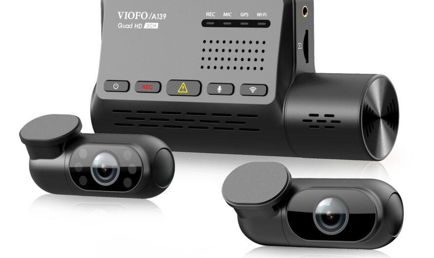 Viofo A139 3CH 3-channel dash cam review: Discrete design and full car coverage
