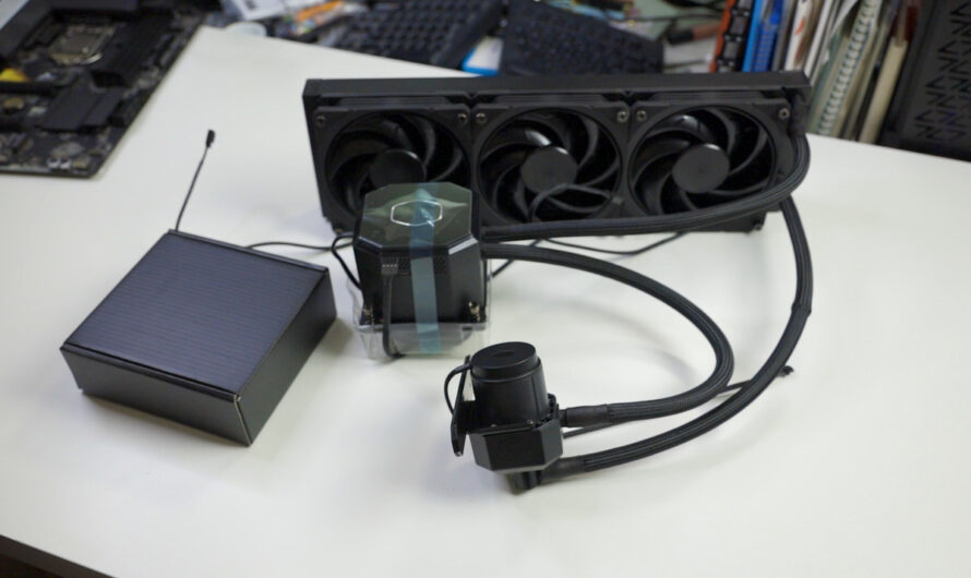 Cooler Master's thermoelectric AIO cooler is smaller than we expected