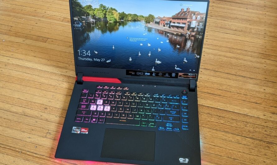 Asus ROG Strix G15 Advantage Edition review: This all-AMD laptop is affordable and very fast