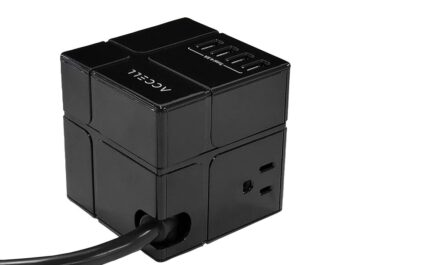 accell-power-cube-review:-this-minimalist-surge-protector-delivers-maximalist-usb-charging-and-flexibility