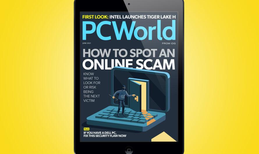 PCWorld's June Digital Magazine: How to spot an online scam