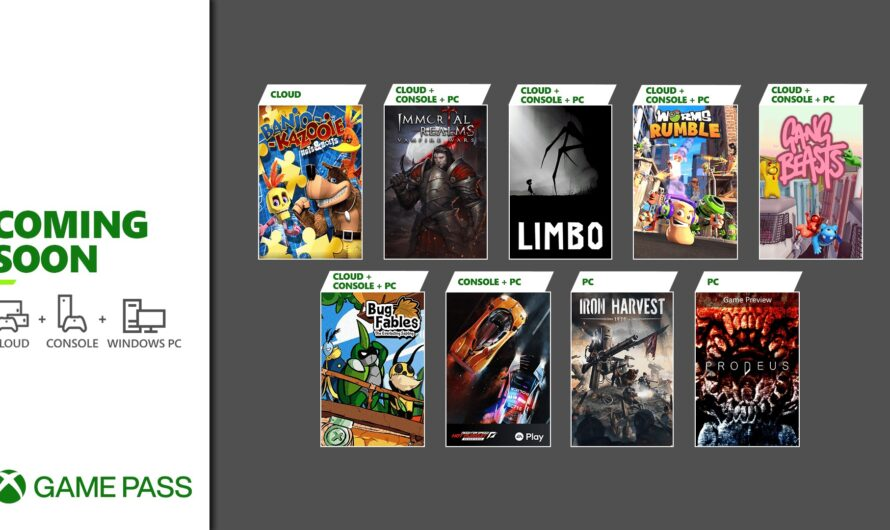 LIMBO, Need for Speed and more come to Game Pass