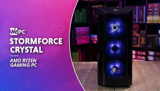Stormforce Crystal RX 6700 XT Prebuilt Gaming PC
