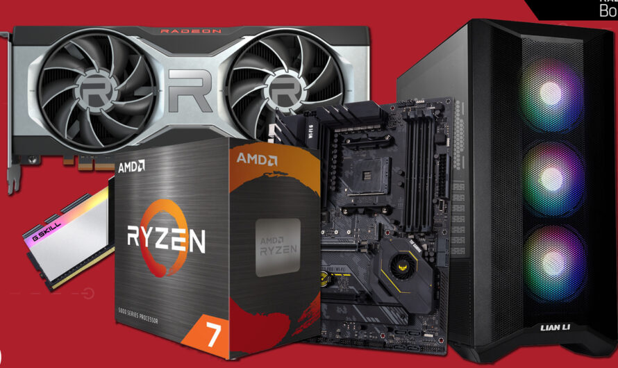 Watch us build a $2,000 AMD-based gaming PC