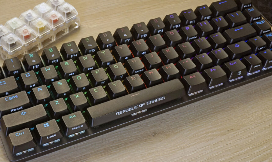Asus ROG Falchion review: A wireless gaming keyboard that falls short of the target