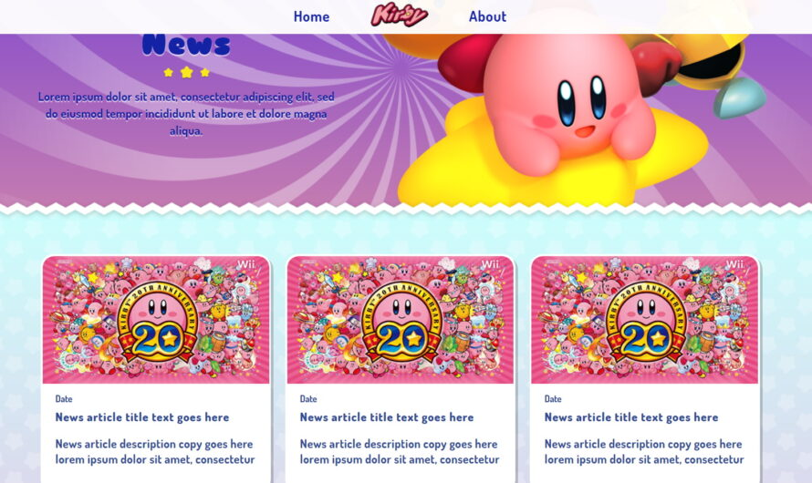 Nintendo may be getting ready to announce new a Kirby game