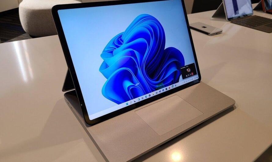 Meet Surface Laptop Studio, the RTX-powered PC that makes Windows 11 shine