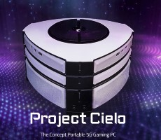 Gigabyte Aorus Unveils Futuristic 5G Modular Gaming PC Concept Called Project Cielo