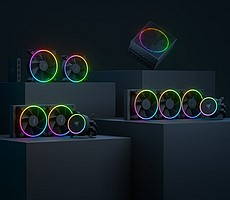 Razer Kicks Off PC Component Party With RGB PSUs, Liquid Coolers And Fans