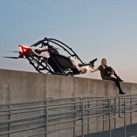 Watch Jetson ONE, A Personal Electric Quad-Copter That Lets Anyone Take To The Friendly Skies