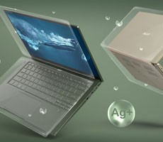 Humans Are So Gross Acer's Applying An Anti-Germ Coating To Laptops And Tablets